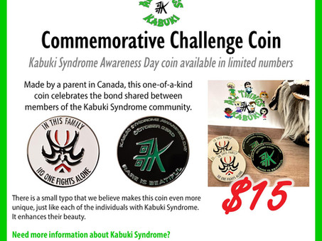 Kabuki Challenge Coin Available Now!