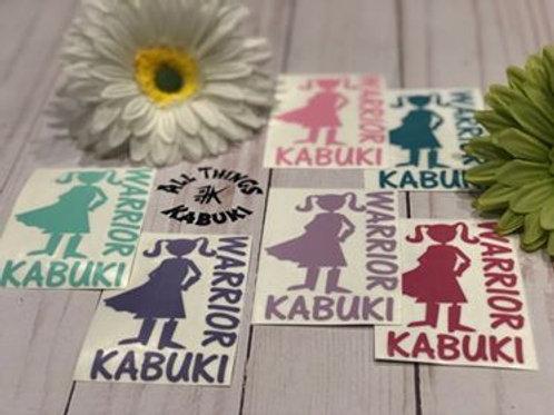 Kabuki Warrior Superhero Vinyl