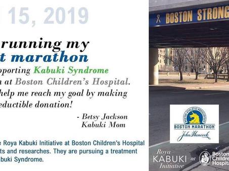 Kabuki Mom Runs the Boston Marathon