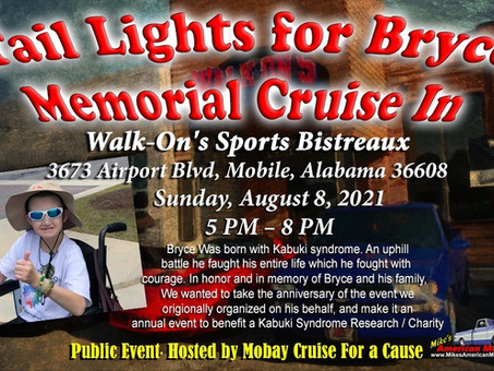 Tail Lights for Bryce Memorial Cruise Raises $705 for ATK