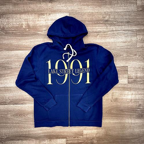 Navy seal  Zip up hoodie