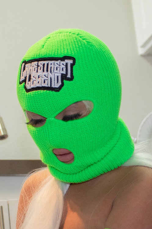 Green Lantern Ski Mask