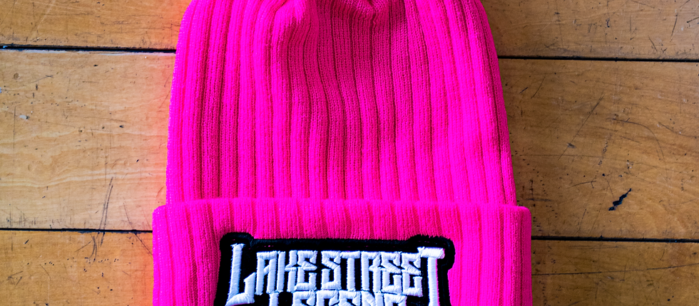 Furry Pink Skully