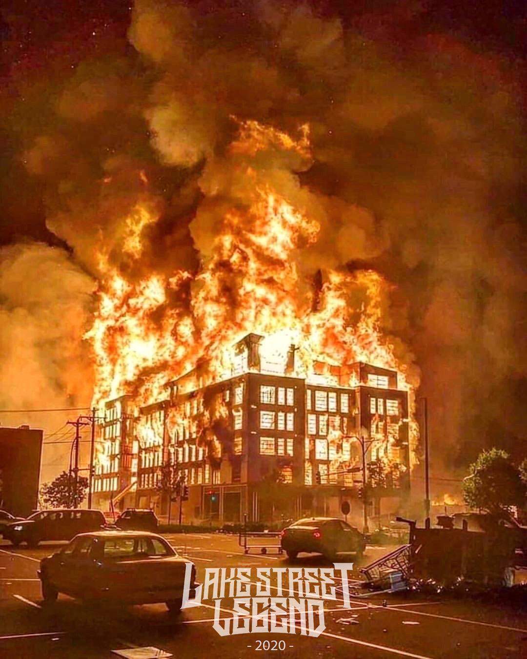 fire building