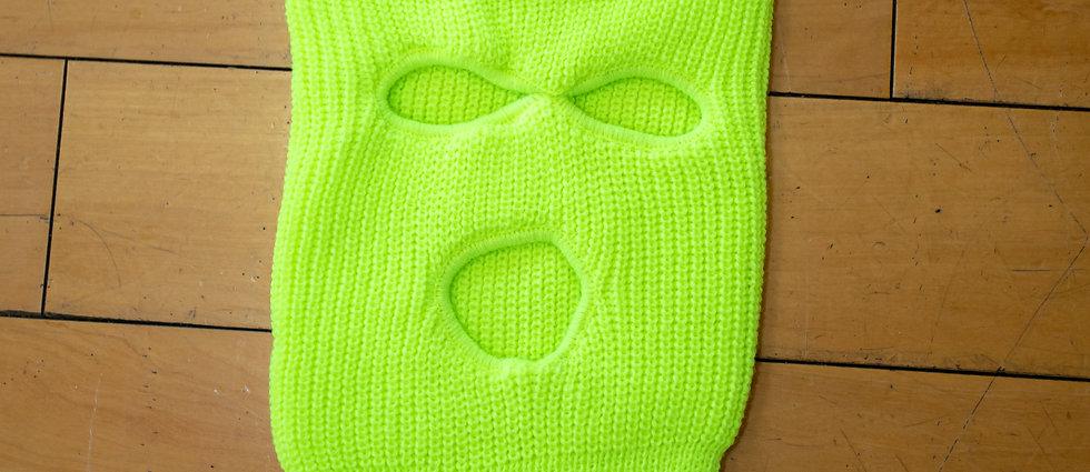Neon Ski Mask