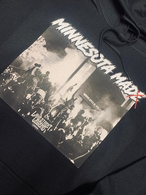 MINNESOTA MAD 🤬  reflective hoodie