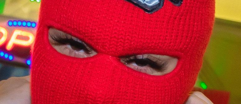 Red Robbin Ski Mask