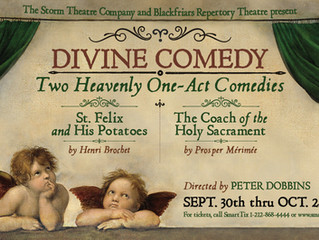 "TWO COMPELLING, FAITH-BASED COMEDIES COME TO MANHATTAN'S LOWER EAST SIDE IN ""DIVINE COMEDY"""