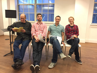 Rehearsals begin for The Rainmaker