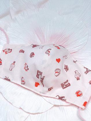 夏マスクさらさら涼生地隙間なし快適フィット☆全て国産☆良質ダブルガーゼマスク