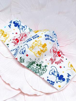 ワイヤー入り国産良質ホワイトWガーゼ使用マスク