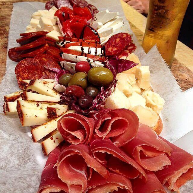 Assorted Cheeses & Meats