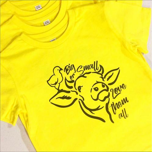 Big Or Small Kids T-Shirt