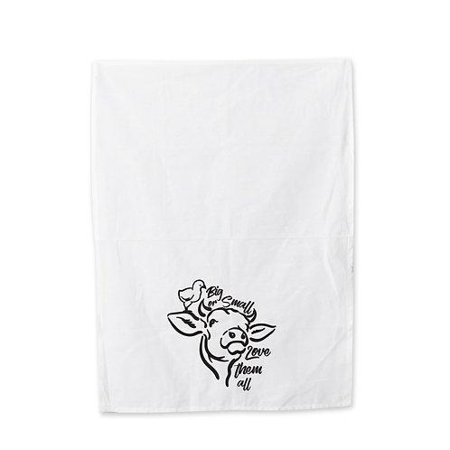 Big Or Small Tea Towel