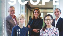 Voor het eerst kinderen op cover Management Scope