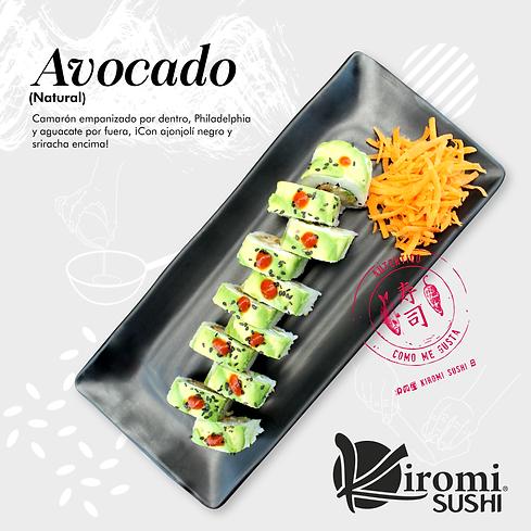 Kiromi Sushi_Publicaciones_Nuevos Rollos