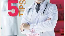 5 consejos de marketing digital para doctores.