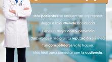 6 razones por las que se debe implementar una estrategia de marketing digital en la práctica médica.
