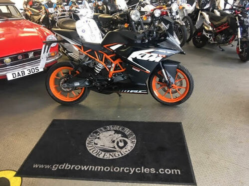 KTM 125 RC 125 2016 One Owner MINT!