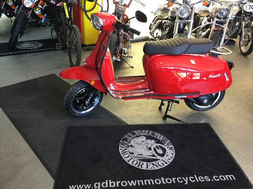 Royal Alloy GP 125 2019 Red Stunning