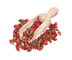 Rosas secas