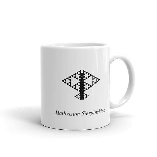 Datavizbutterfly - Mathvizum Sierpinskius - Mug