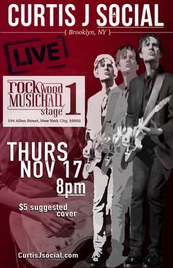 Rockwood Music Hall | New York, NY