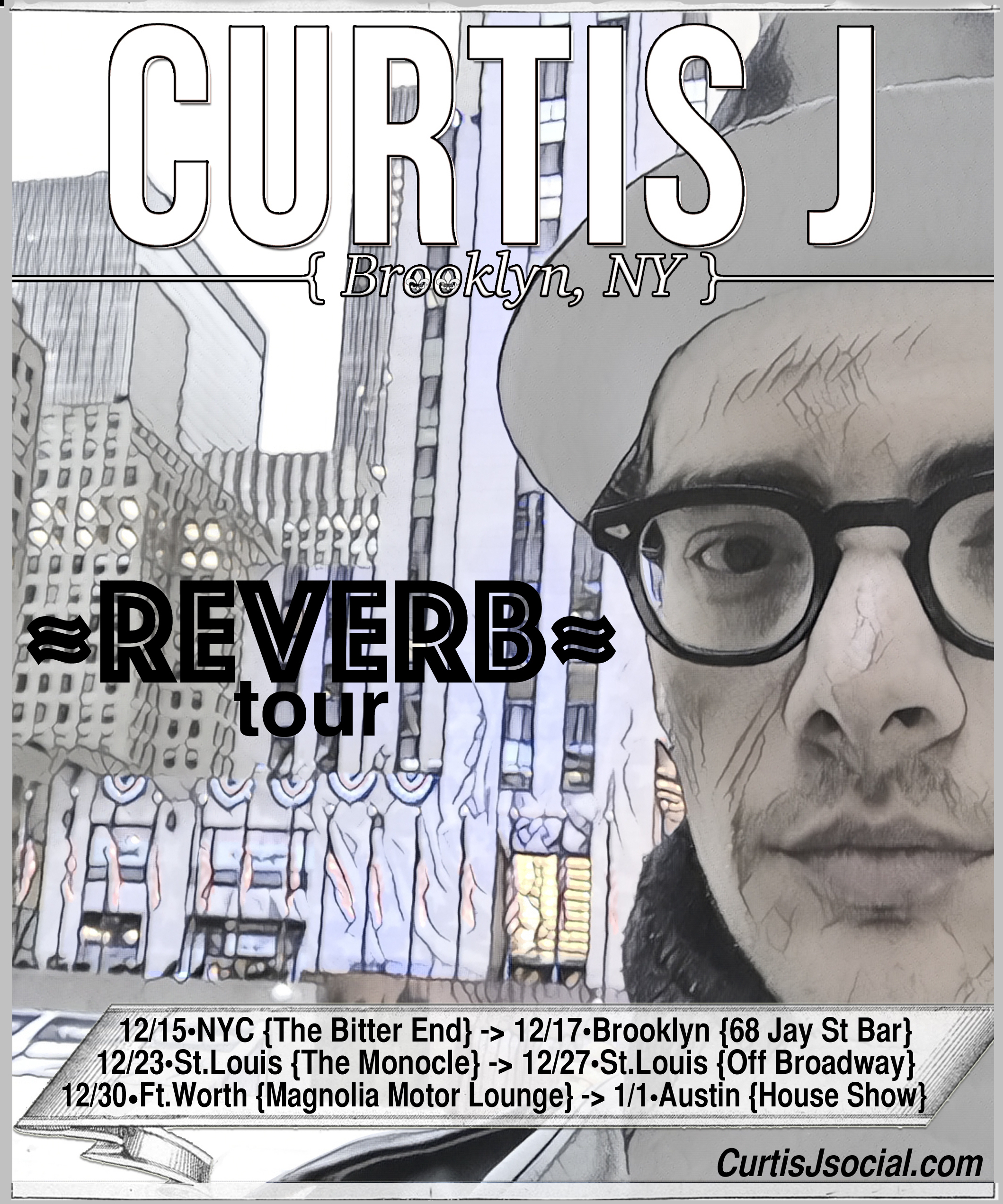 Dec-Jan 2016 Reverb tour