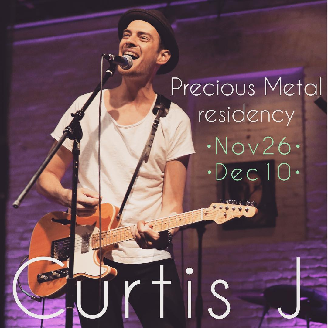 Curtis J _ Precious Metal residency