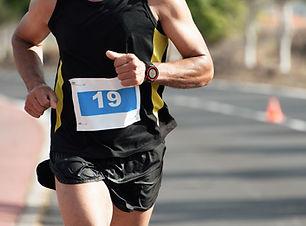 Uomo che corre Race