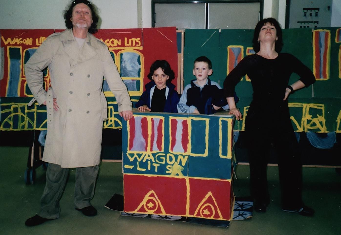 Théâtre du Hibou dans les écoles