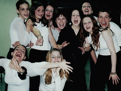 Elèves Milagro Théâtre 2001