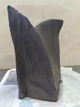 Vase terre noire n°1