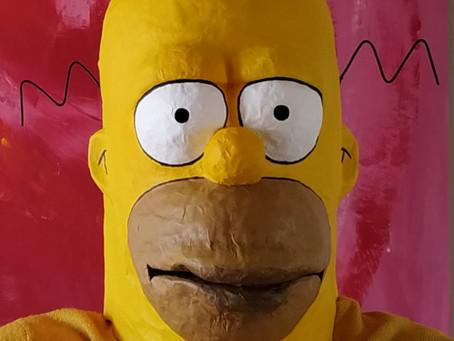 Homer Simpson - février 2019
