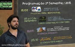 Cursos 2015 - 2 Semestre