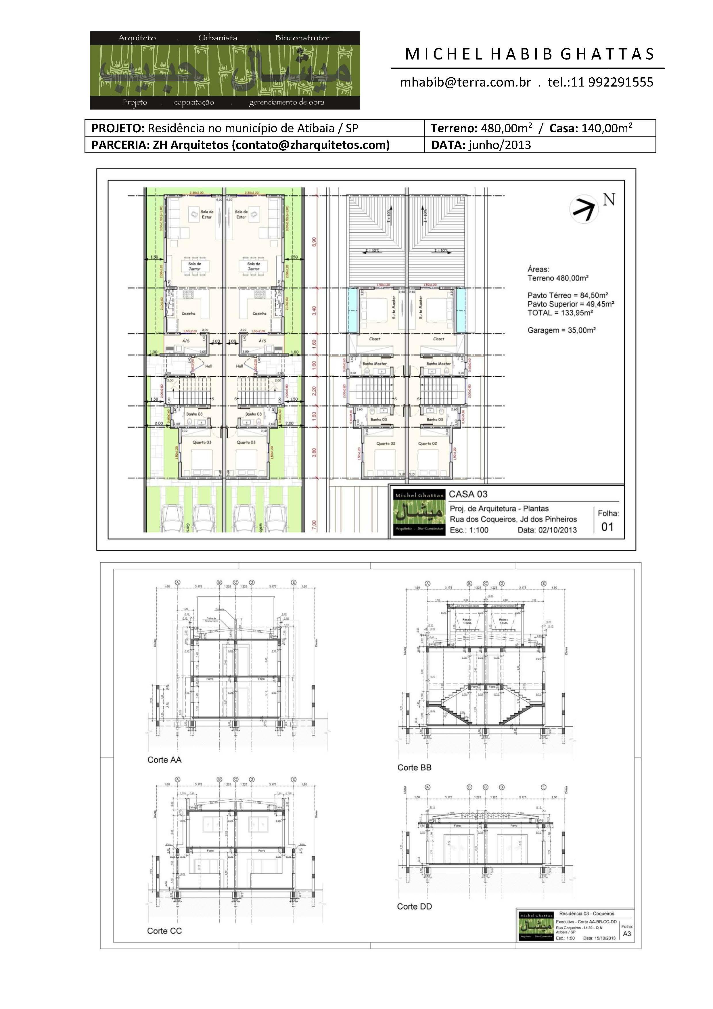 zh.arquitetos - Atibaia 2014