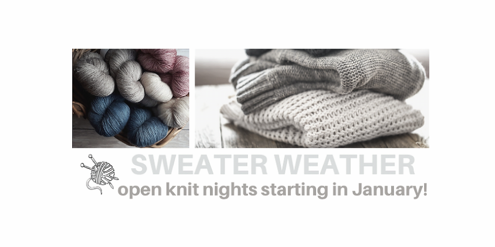 Knit Night - January 2021