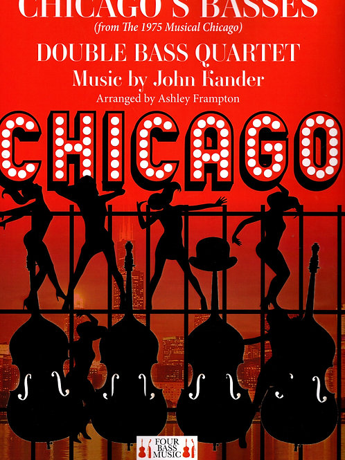 Chicago's Basses from the classic 1975 Musical CHICAGO