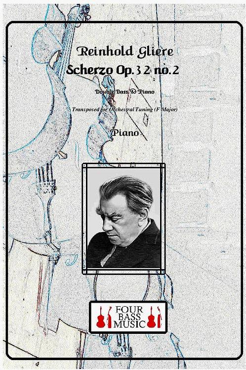 Gliere Scherzo. Op. 32 no. 2 Orchestral tuning