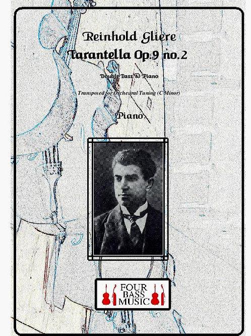 R. Gliere Tarantella Op. 9 No. 2