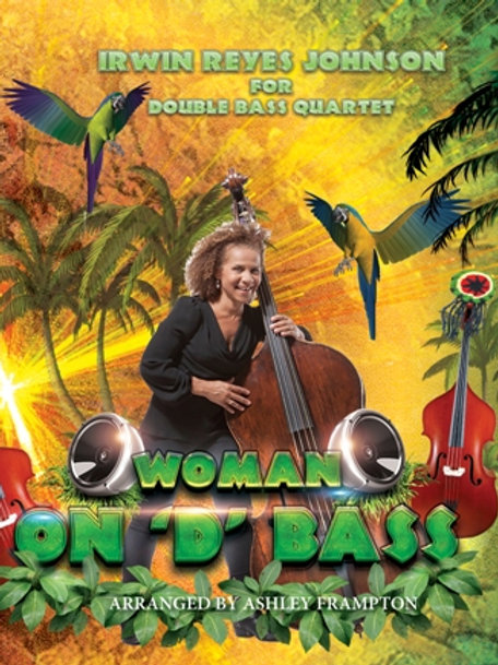 Woman on 'D' Bass for Double Bass Quartet