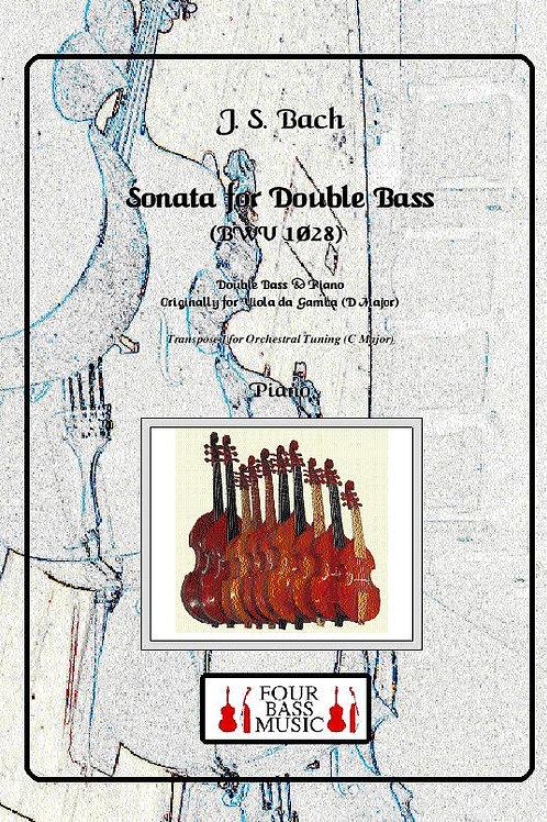 J S Bach Sonata for Double bass (BWV 1028)