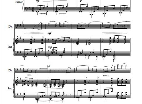 Piano parts in a hurry