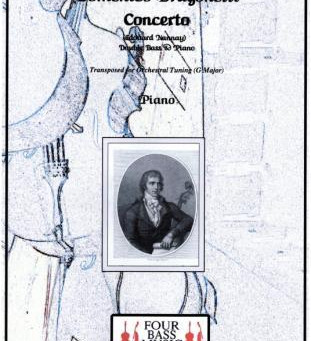 Dragonetti Concerto (Nanny) Transposed piano part Printed & PDF now available