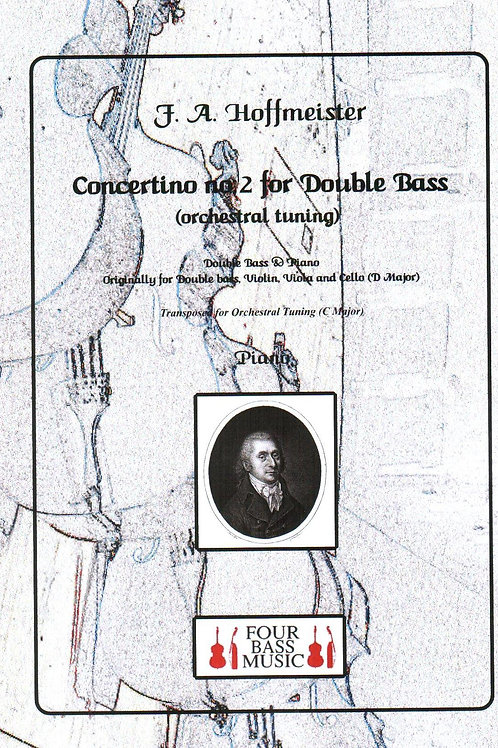 Hoffmeister Concertino no.2 for Double bass