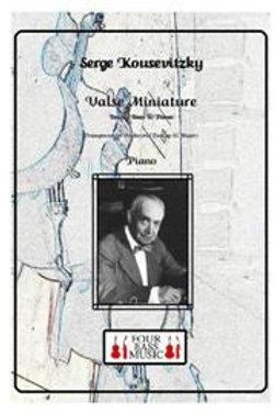 Serge Koussevitzky Valse Miniature Opus 1 no. 2