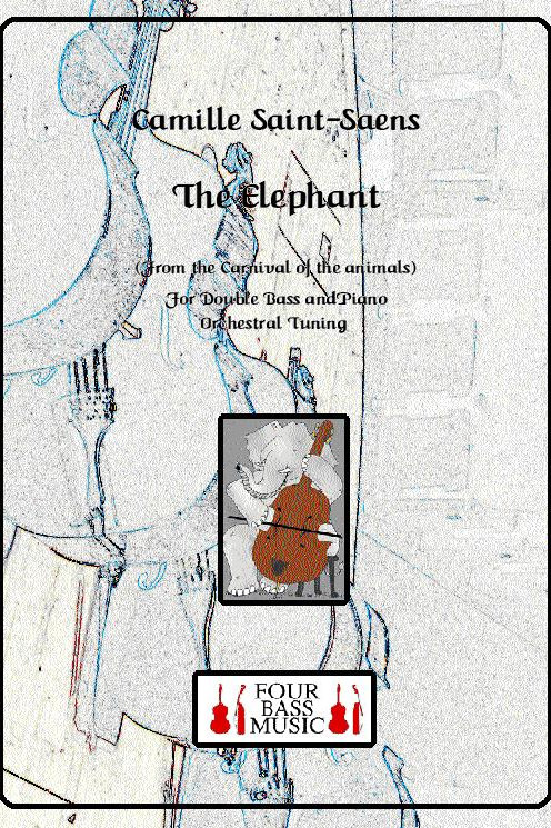The Elephant from the Carnival of the Animals in E flat (Orchestral Tuning)