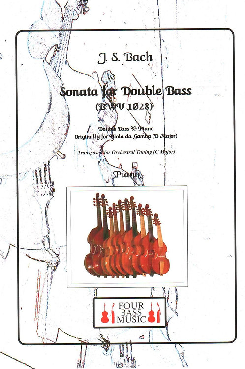 J S Bach Sonata for Double bass (BWV 1028)