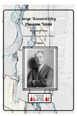 Serge Koussevitzky Chanson Trieste