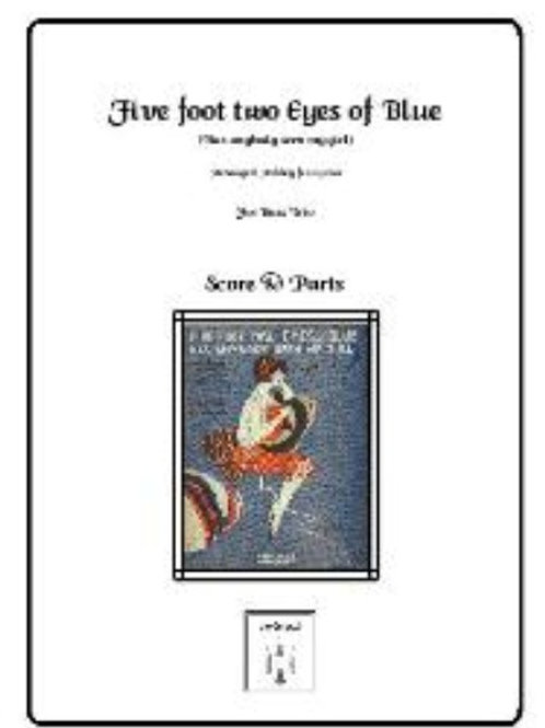 Five Foot Two, Eyes of Blue for Double Bass Trio